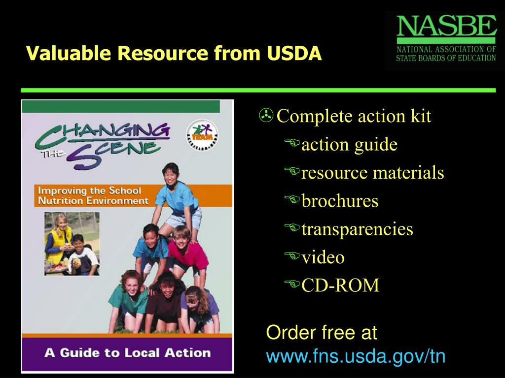 Valuable Resource from USDA