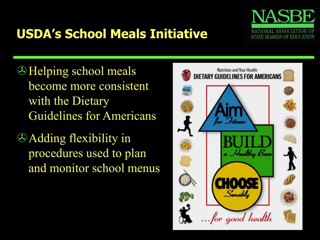 USDA's School Meals Initiative