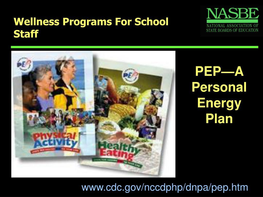 Wellness Programs For School Staff