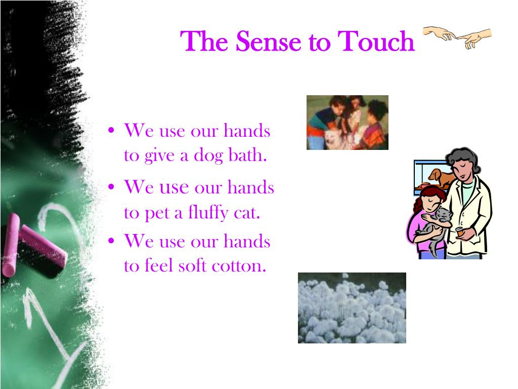 The Sense to Touch