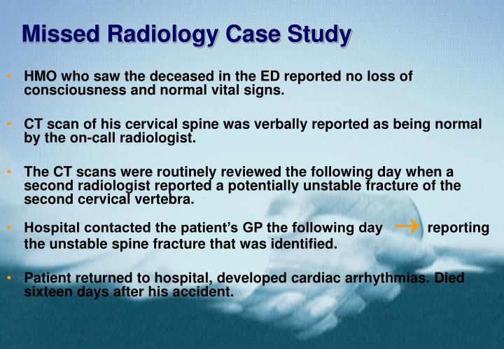 Missed radiology case study3