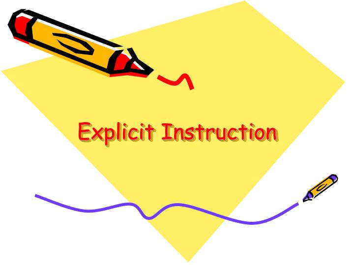 Explicit instruction l.jpg