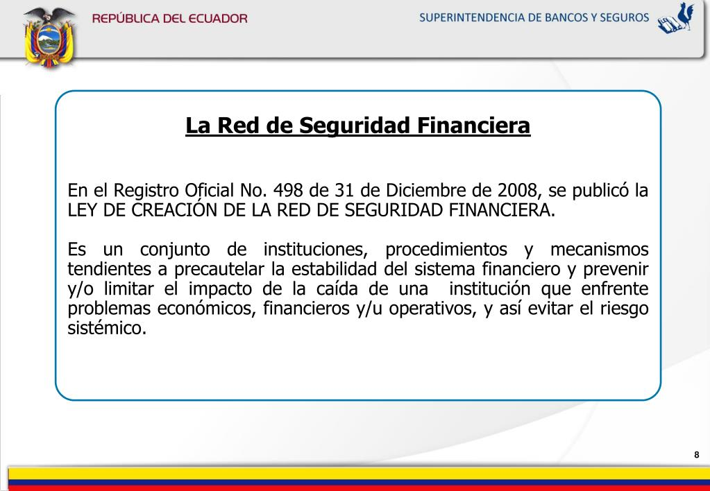 La Red de Seguridad Financiera