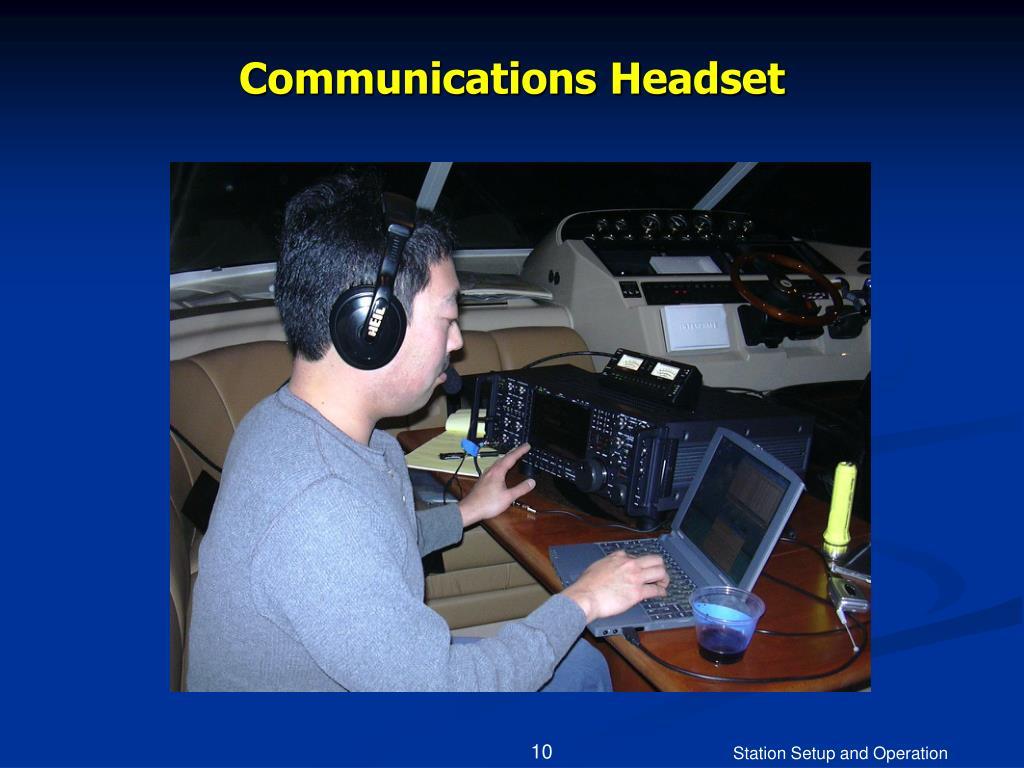 Communications Headset