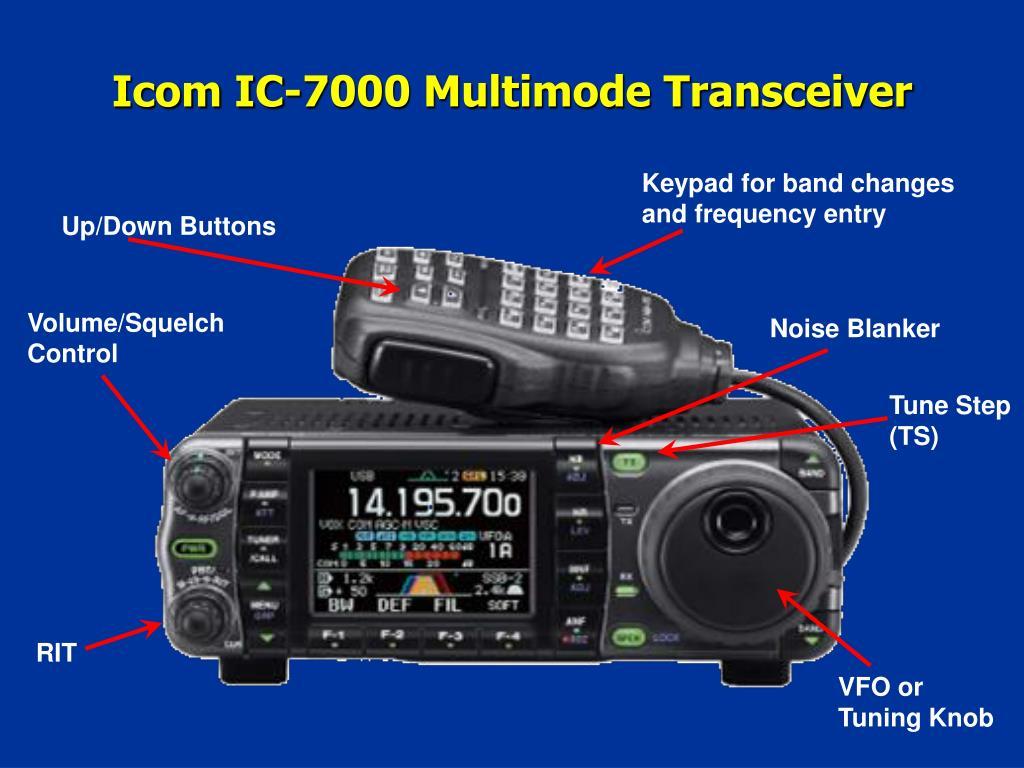 Icom IC-7000 Multimode Transceiver