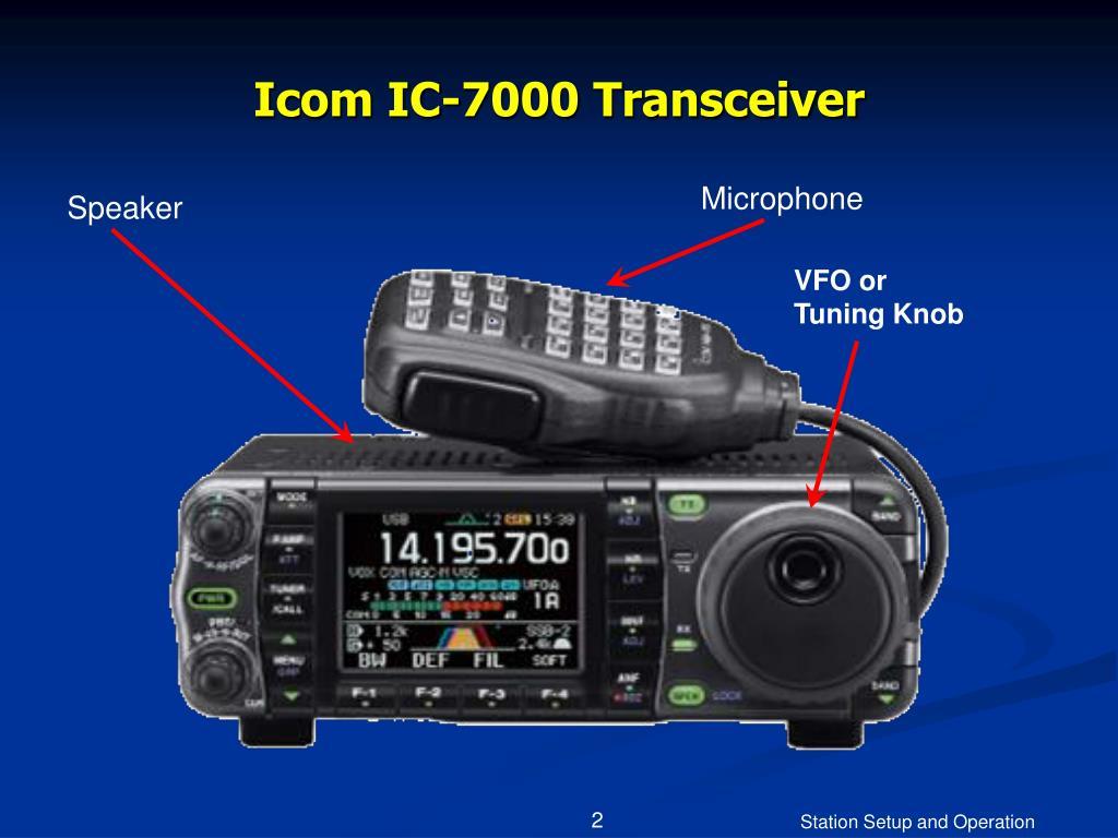 Icom IC-7000 Transceiver