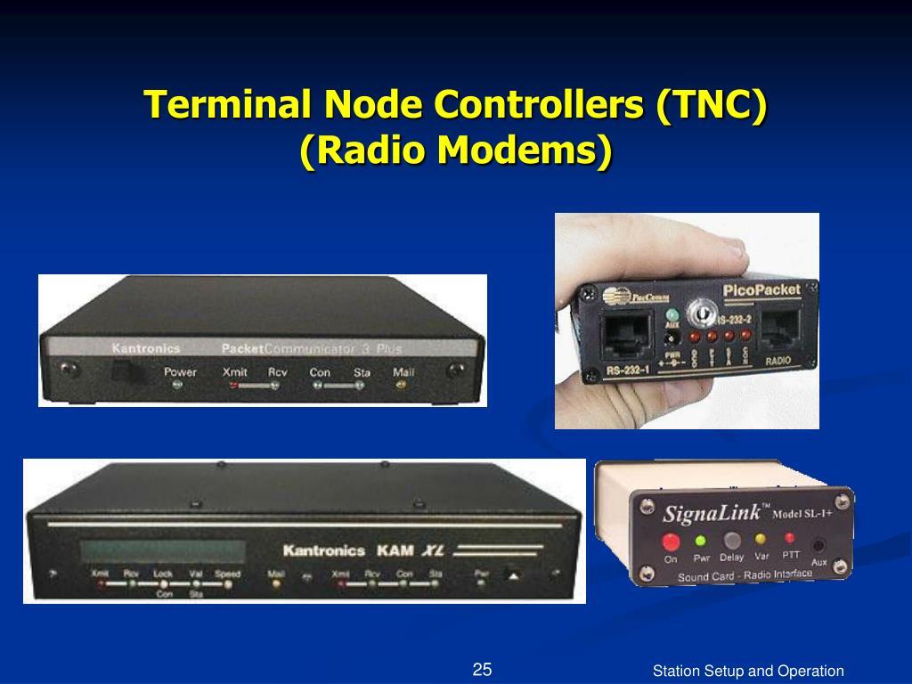 Terminal Node Controllers (TNC)