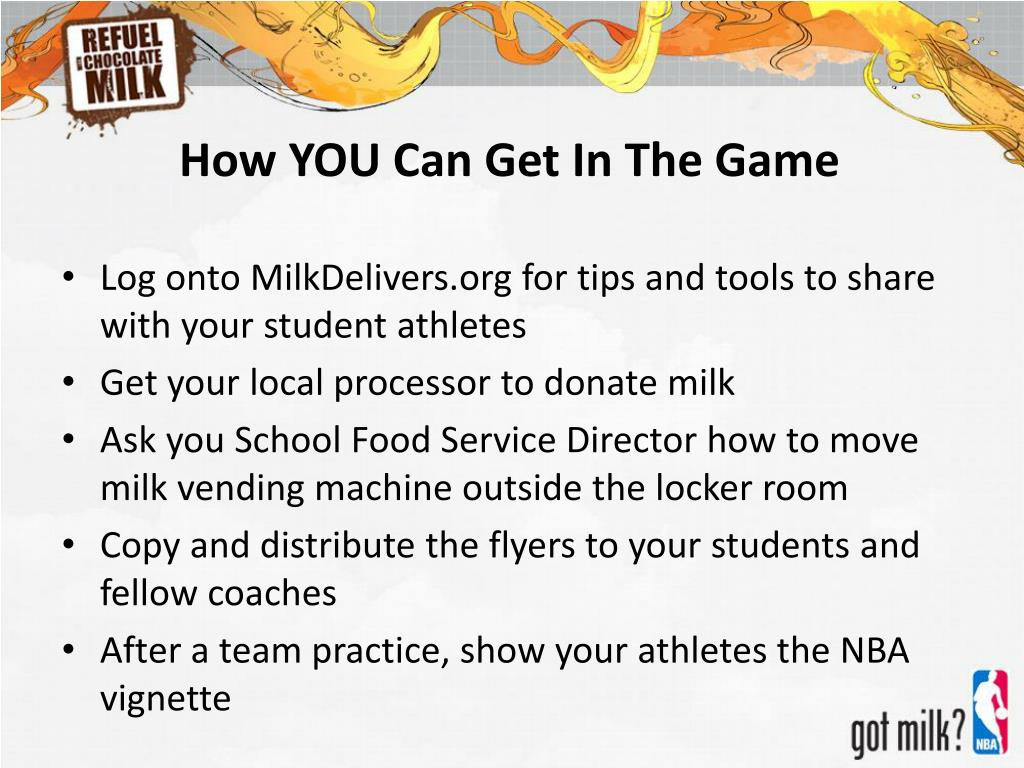 How YOU Can Get In The Game