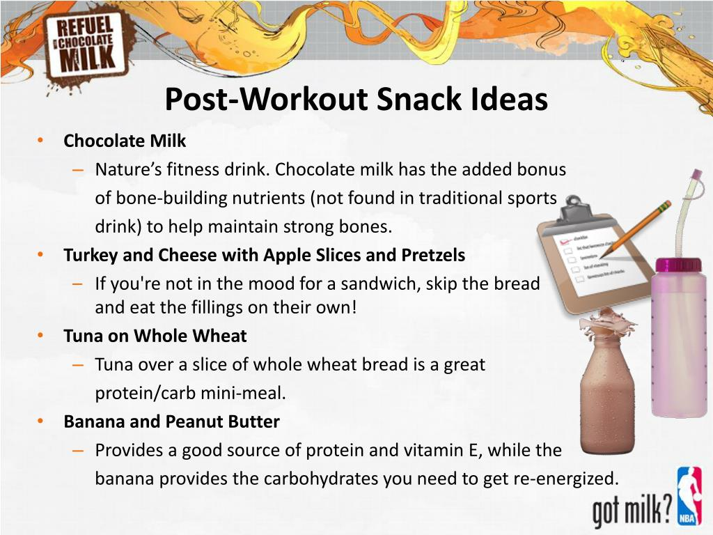 Post-Workout Snack Ideas