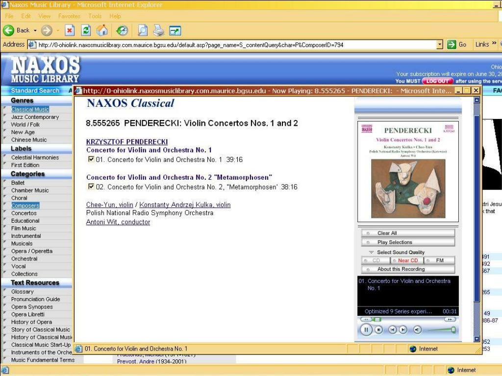 ALAO 11/12/04 Session 3 -- Rm 133 Sinclair Ctr