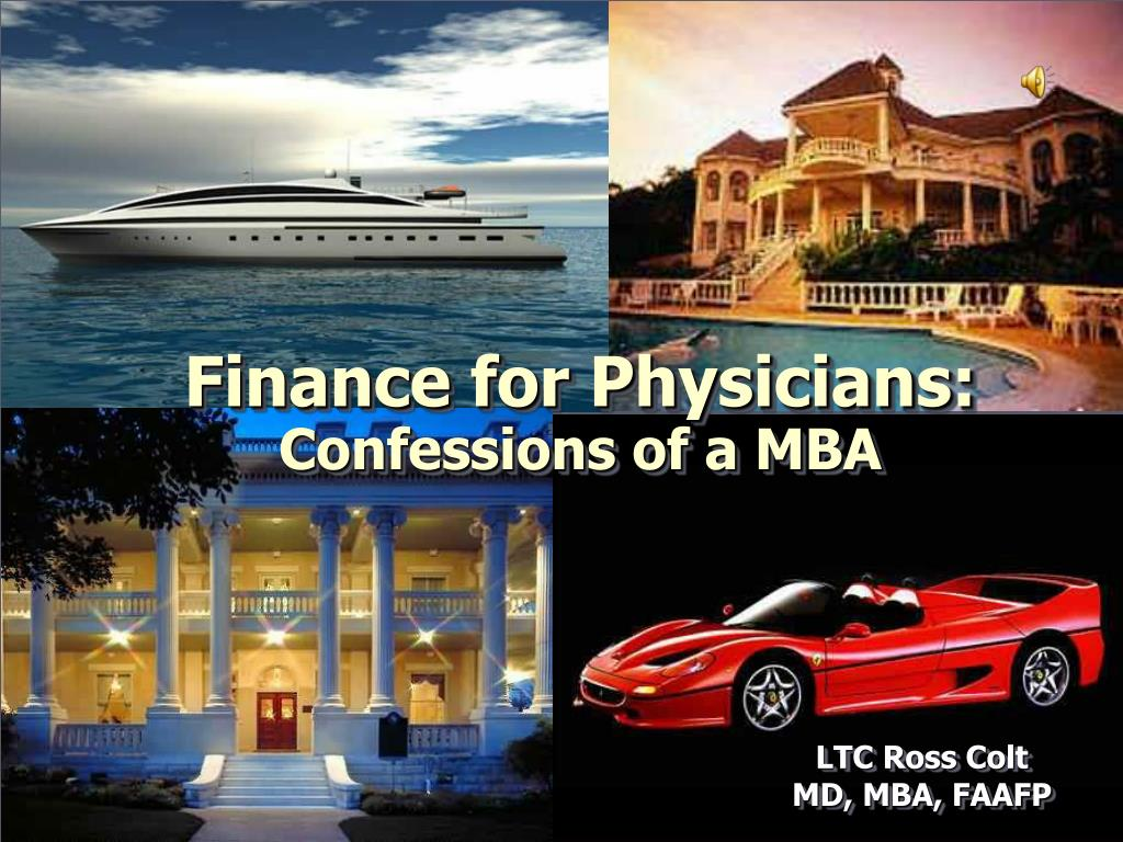 Finance for Physicians:
