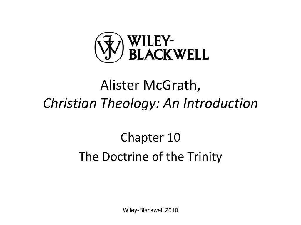 Alister McGrath,