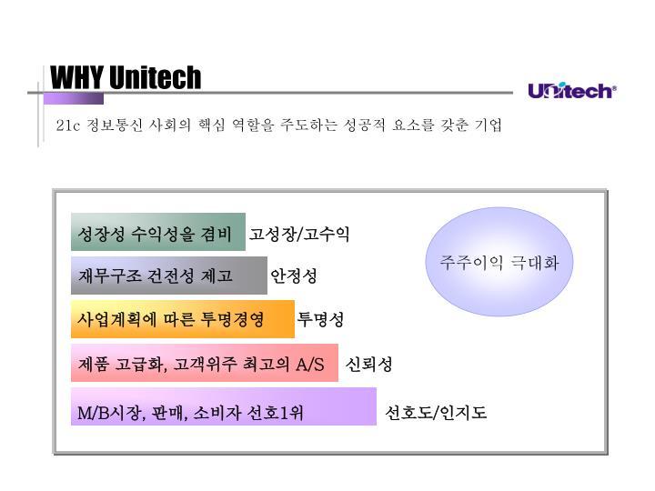 WHY Unitech