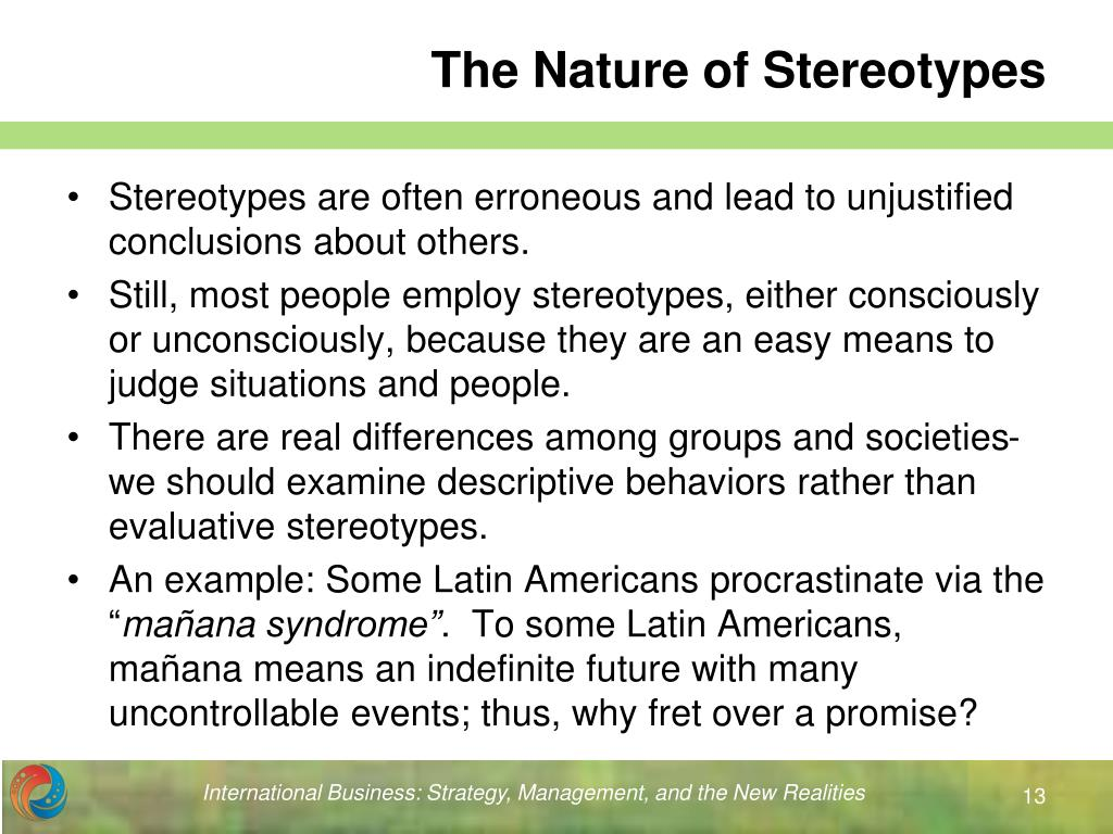 Stereotypes of Americans