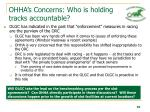 ohha s concerns who is holding tracks accountable10