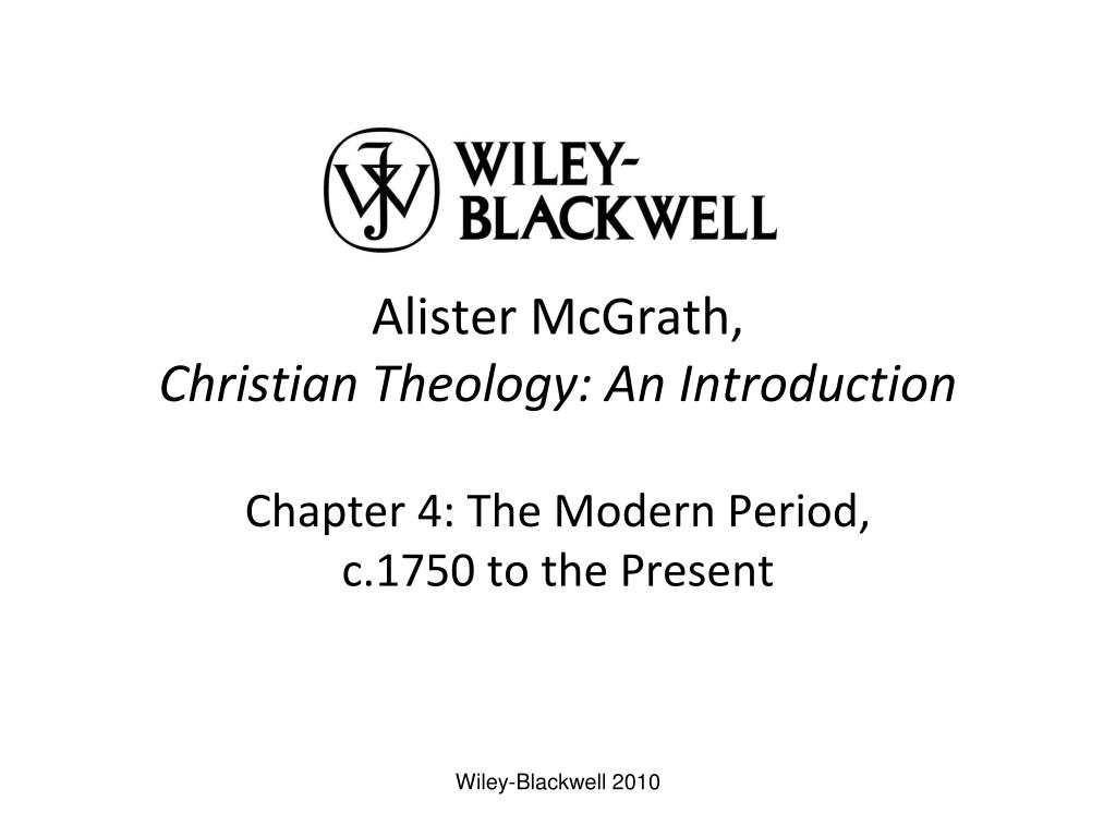 alister mcgrath christian theology an introduction