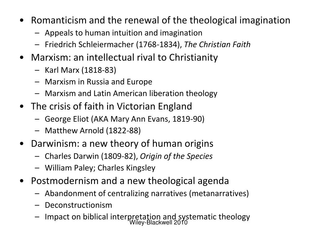 Romanticism and the renewal of the theological imagination