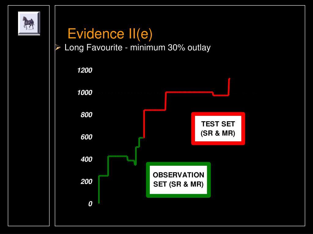 Evidence II(e)