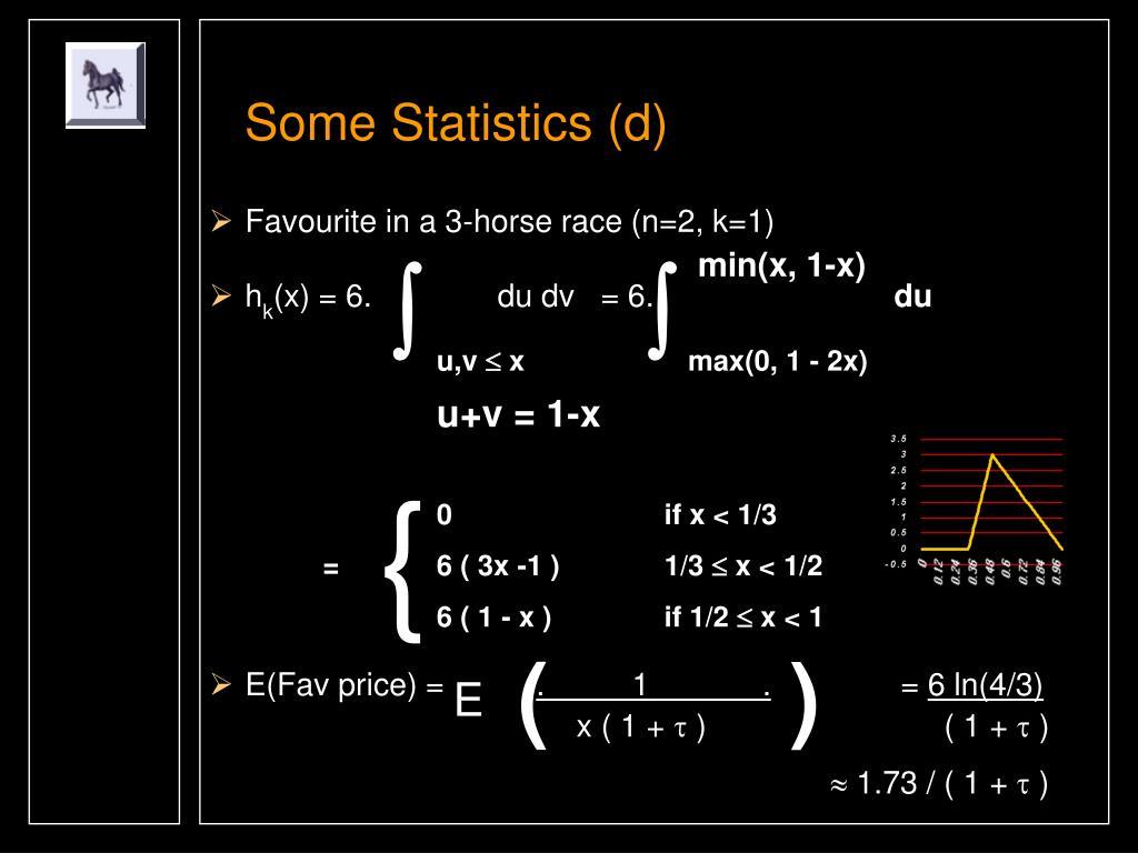 Some Statistics (d)
