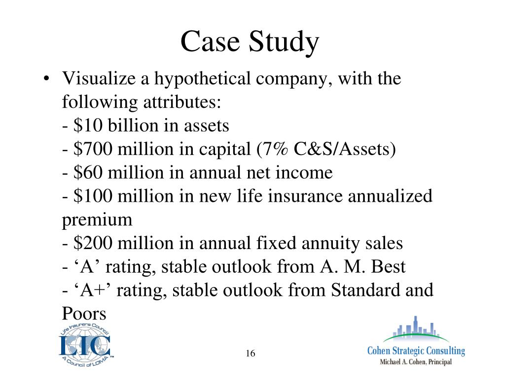 case study of risk management ppt