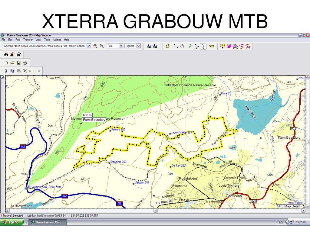 XTERRA GRABOUW MTB