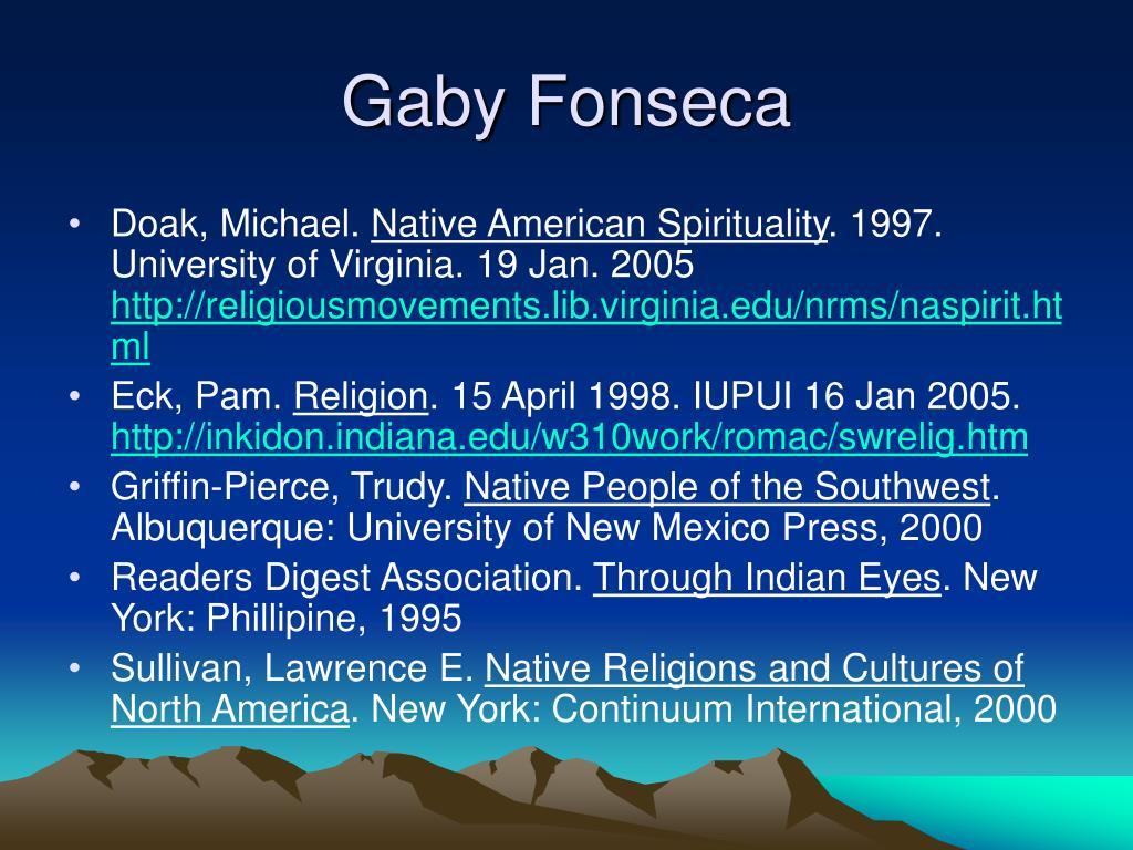 Gaby Fonseca