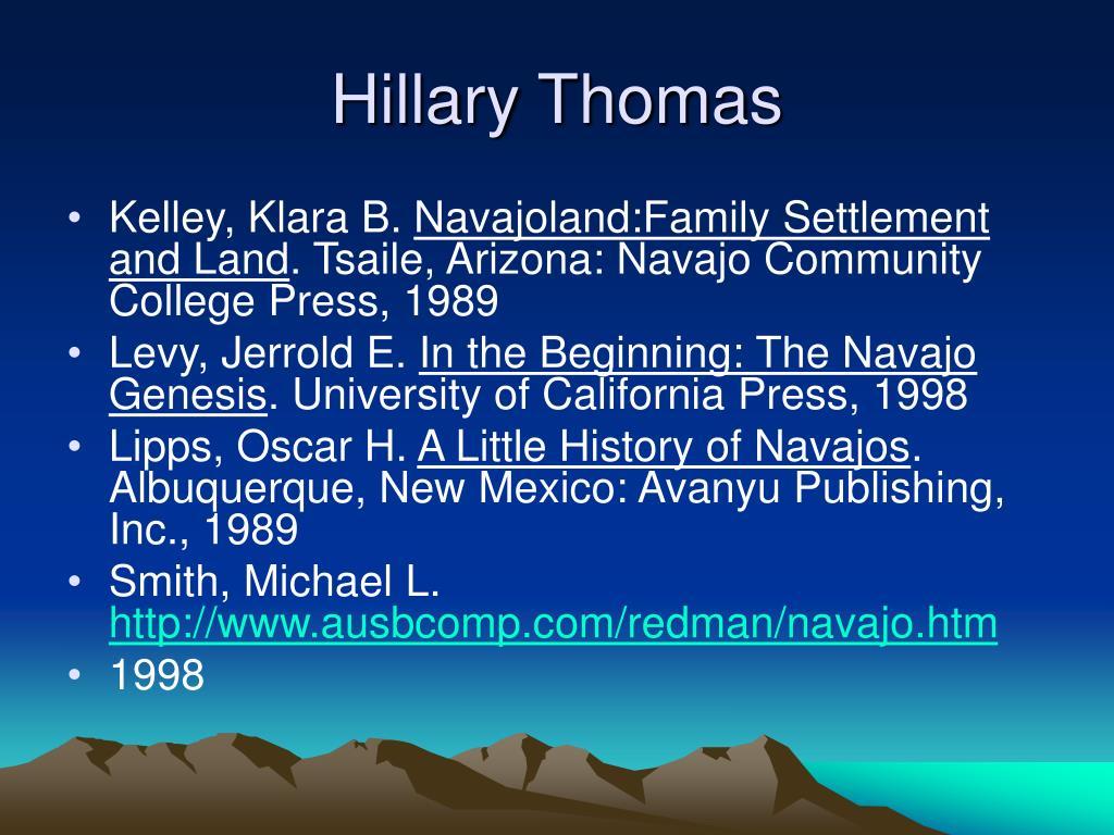 Hillary Thomas