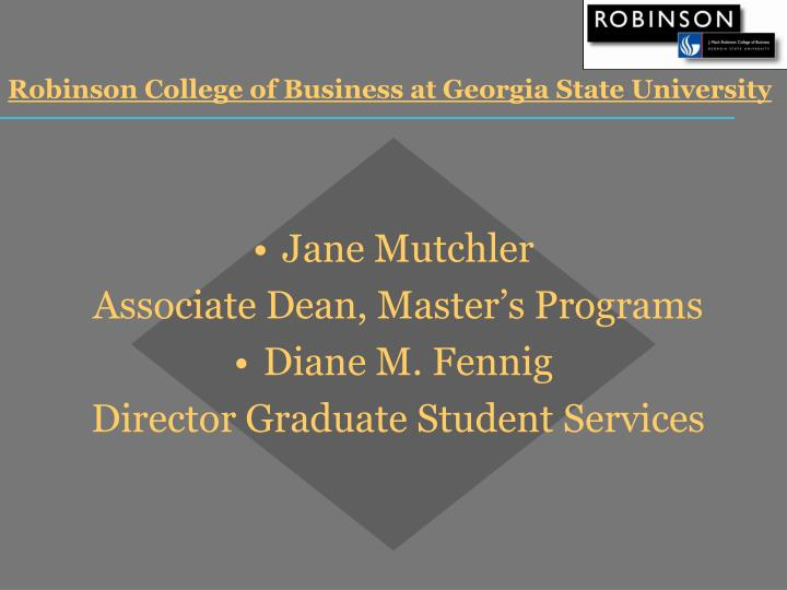 Robinson college of business at georgia state university l.jpg