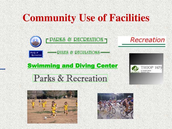 Community Use of Facilities