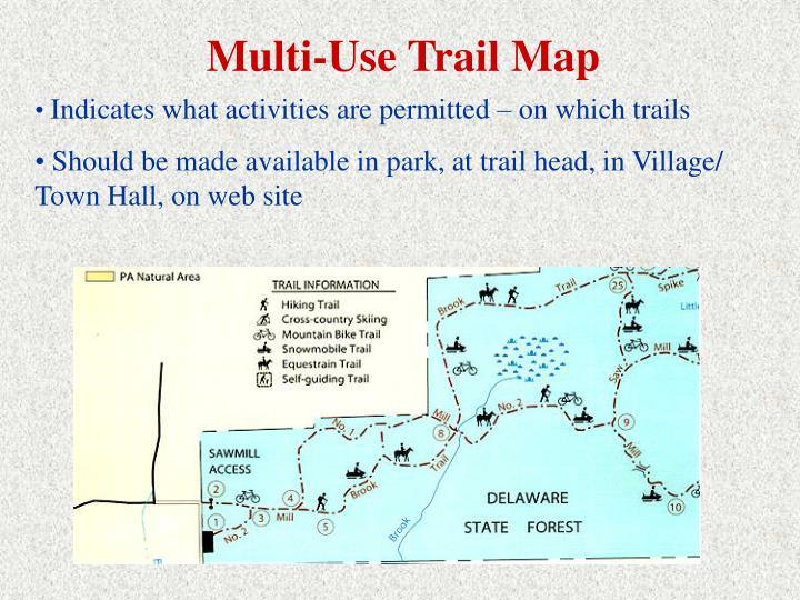 Multi-Use Trail Map
