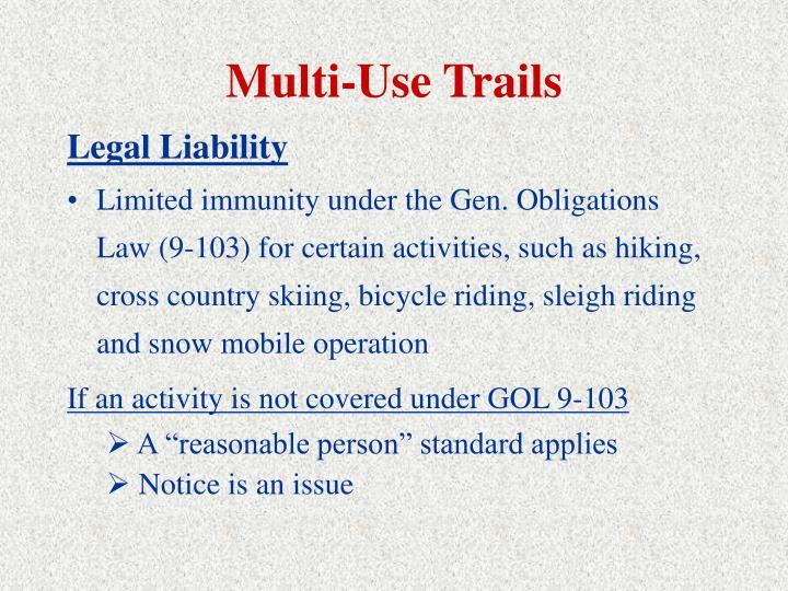 Multi-Use Trails