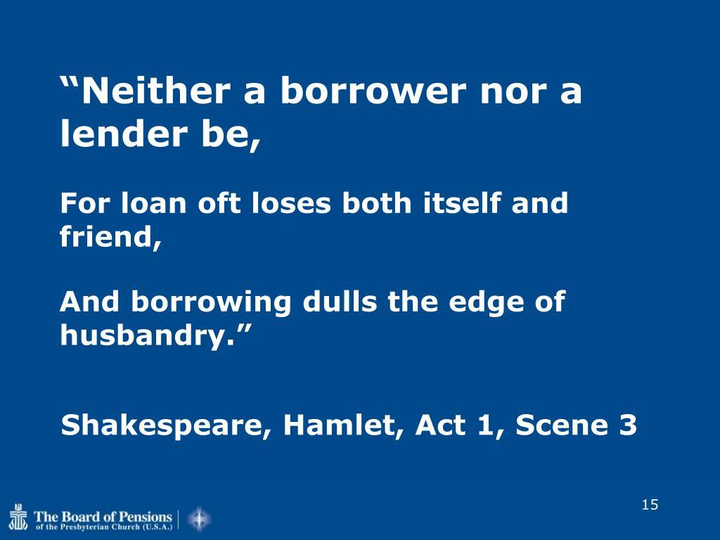 Shakespeare, Hamlet, Act 1, Scene 3