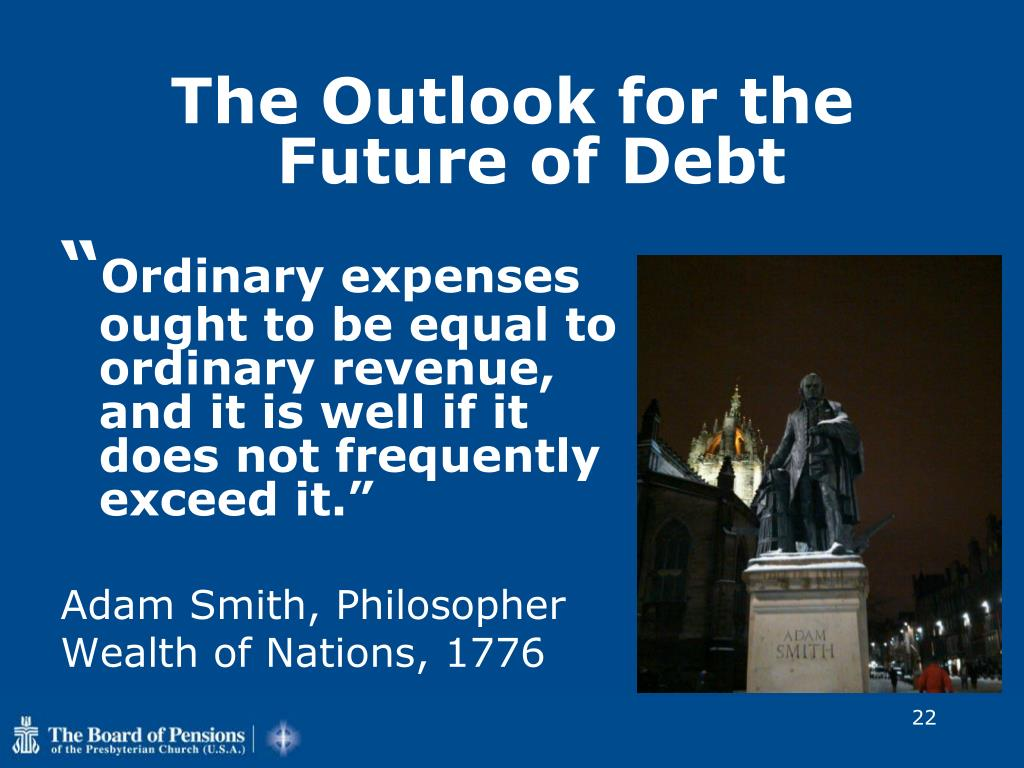 The Outlook for the Future of Debt