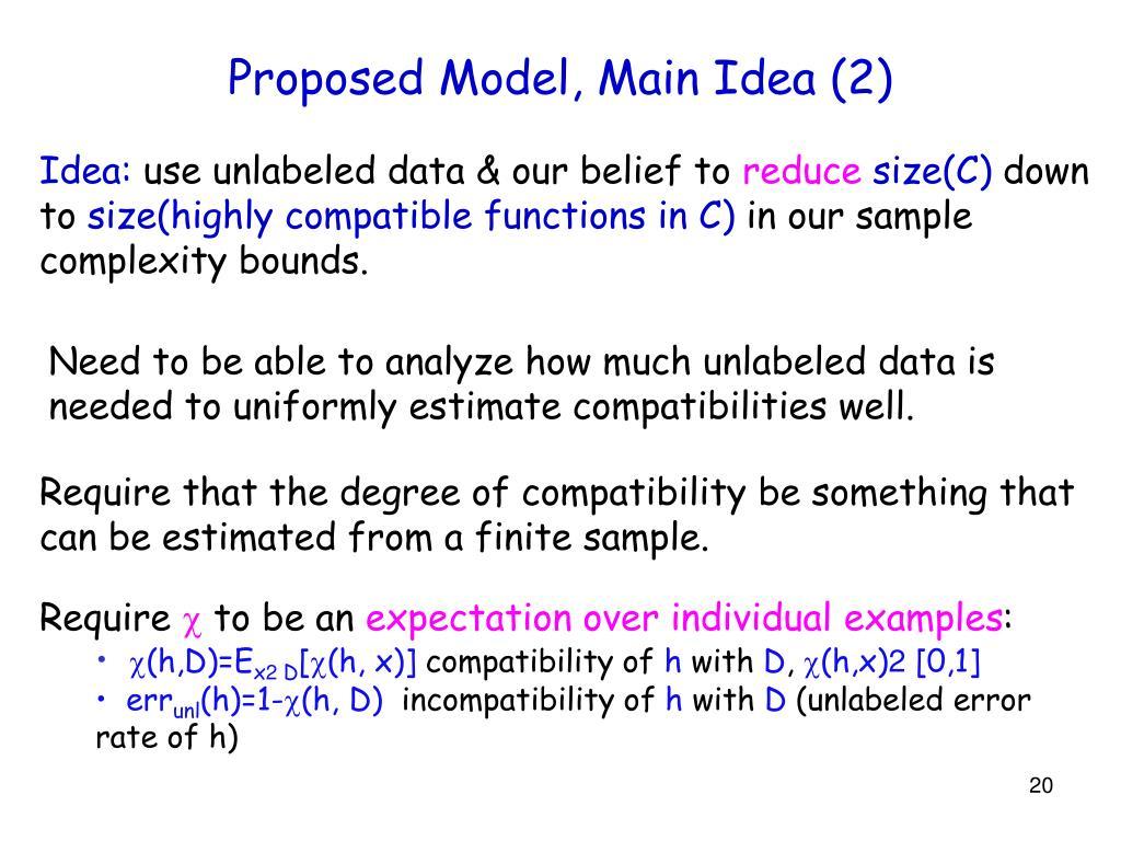 Proposed Model, Main Idea (2)