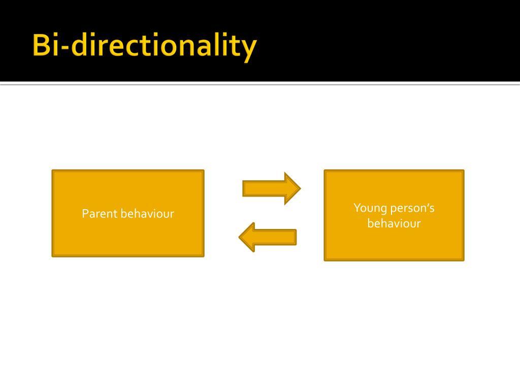 Bi-directionality