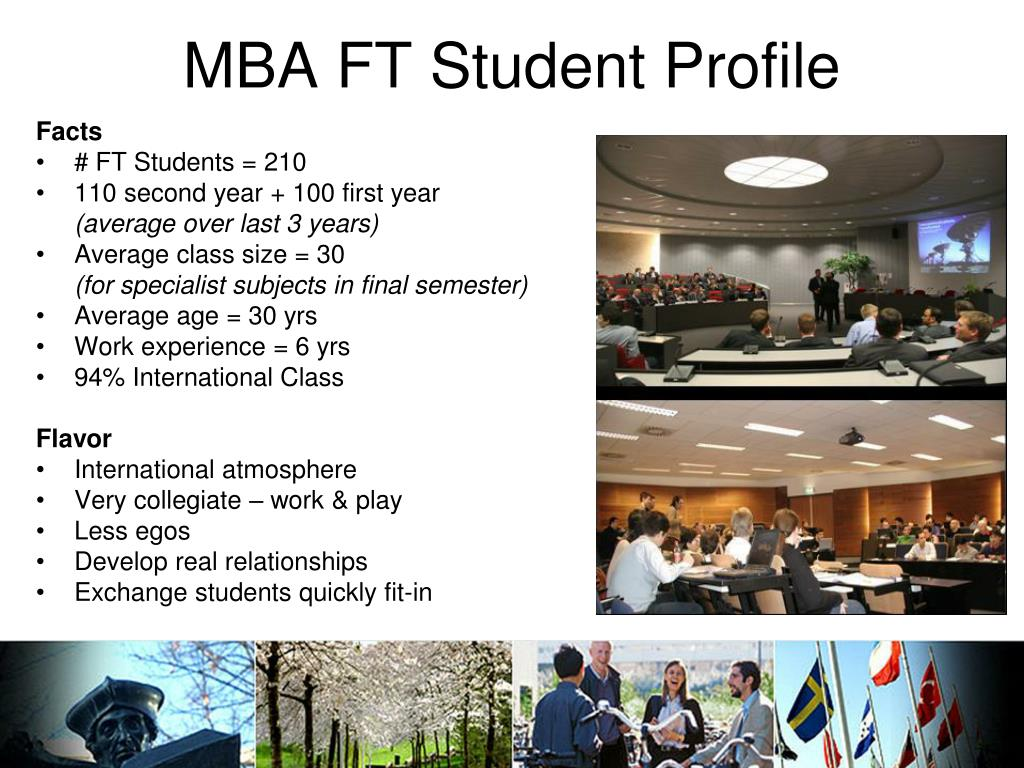 MBA FT Student Profile