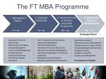 the ft mba programme