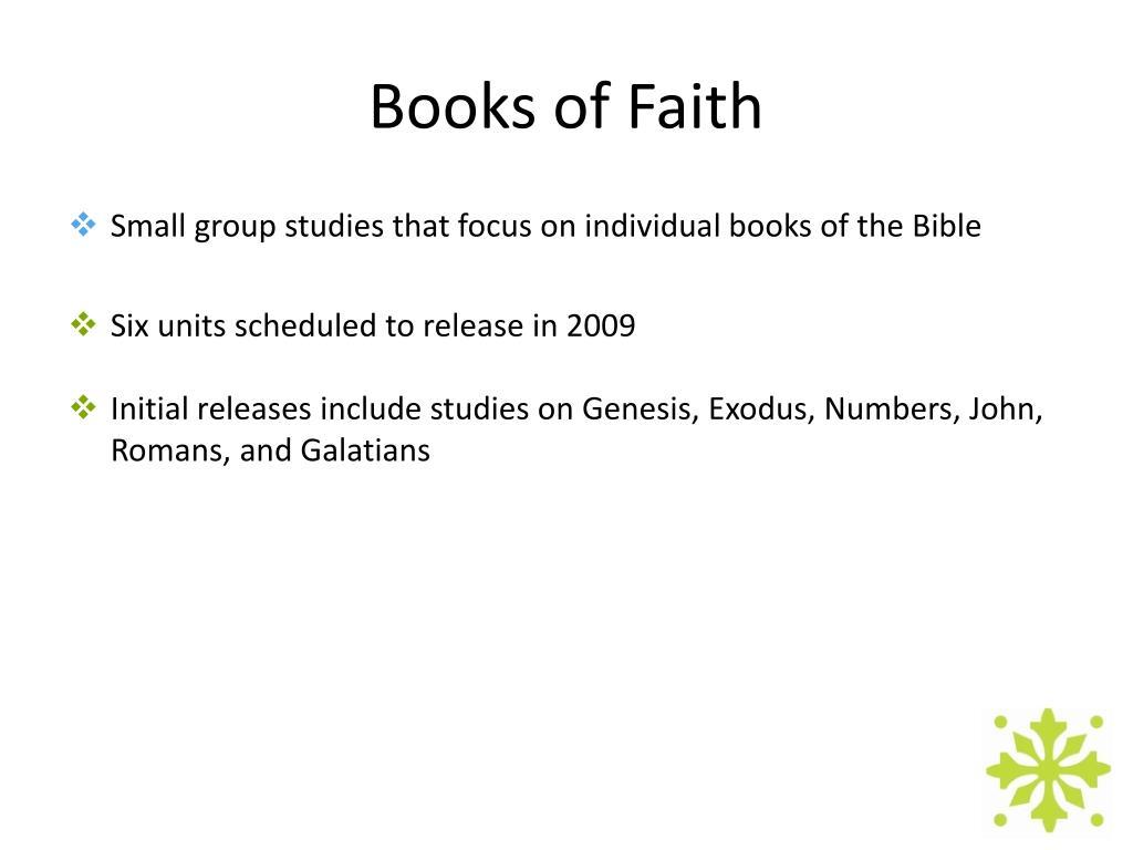Books of Faith