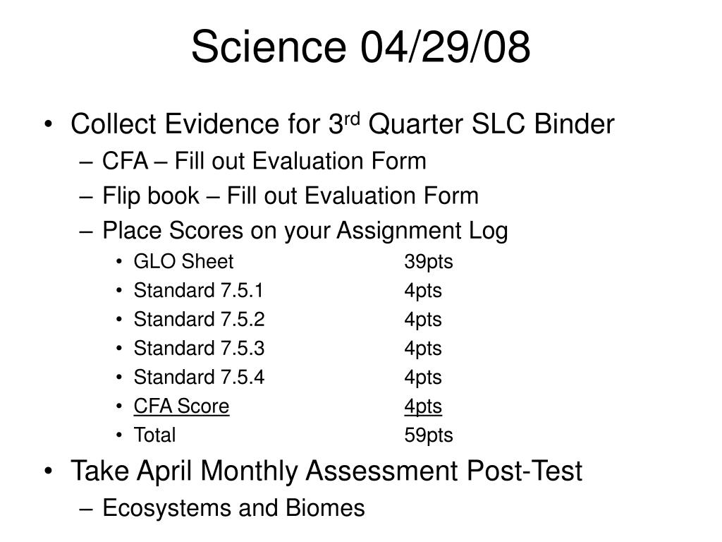 Science 04/29/08