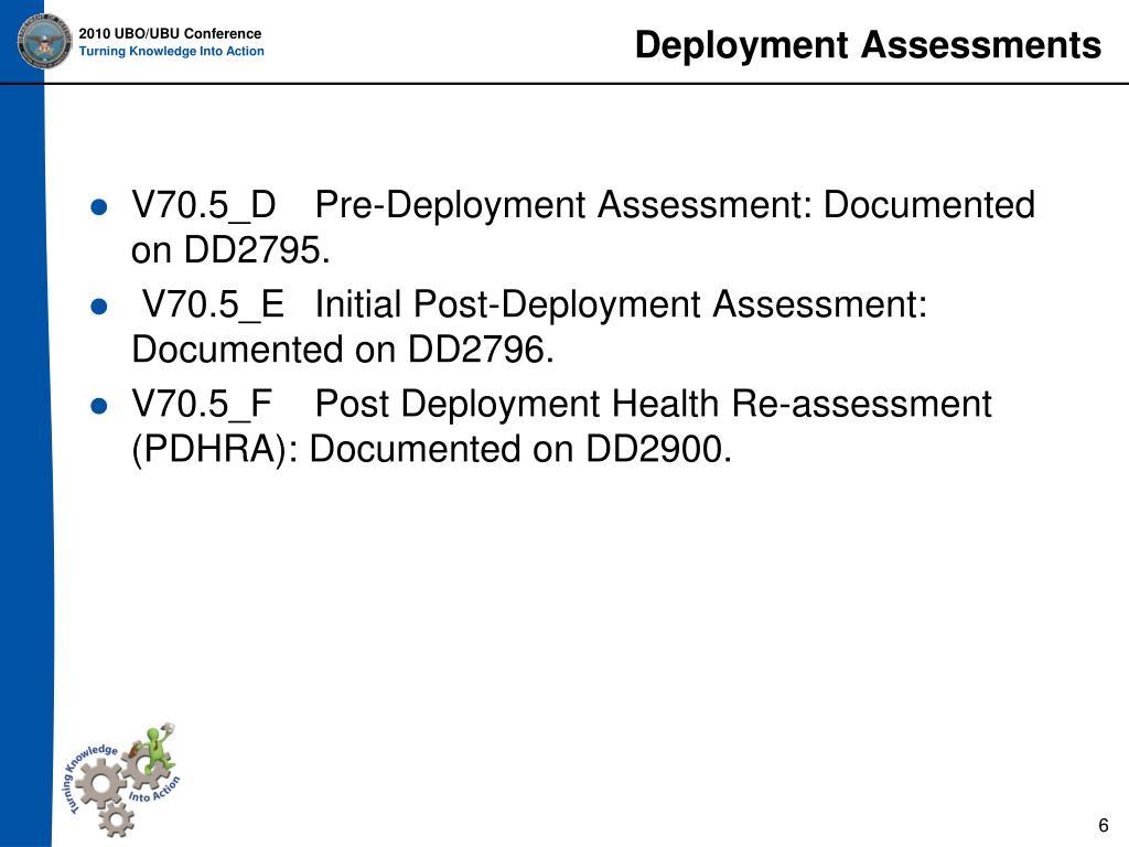 Deployment Assessments