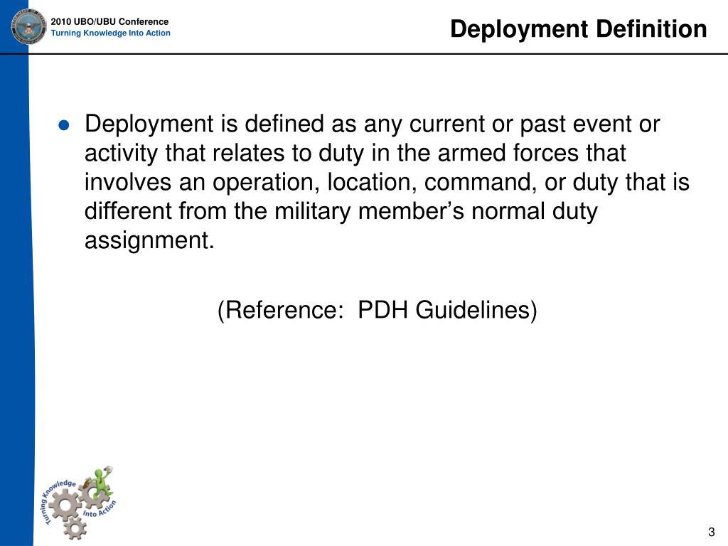Deployment Definition