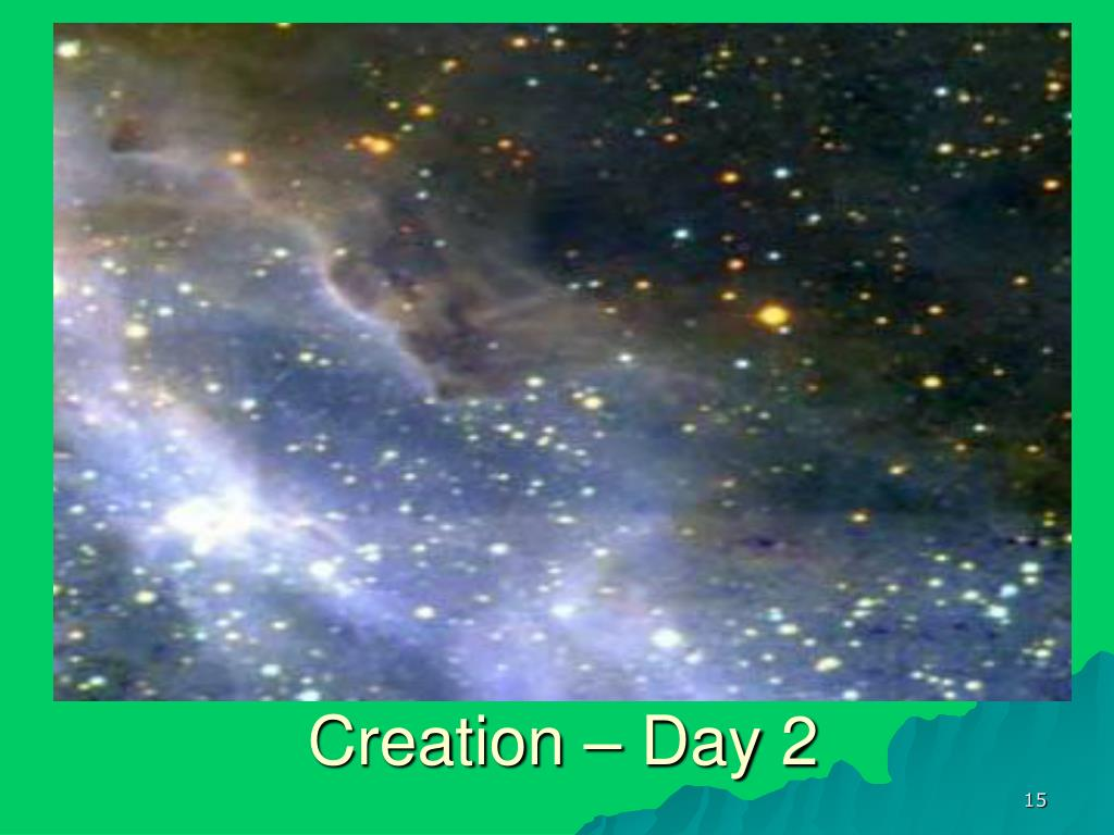 Creation – Day 2