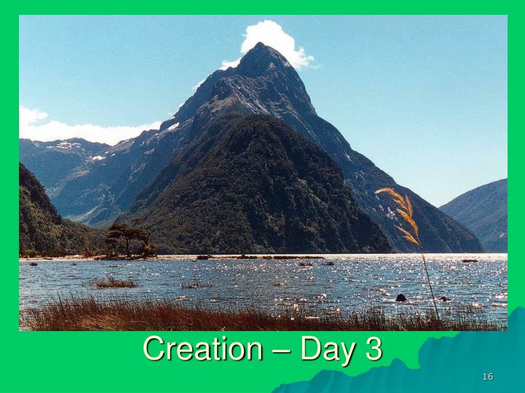 Creation – Day 3