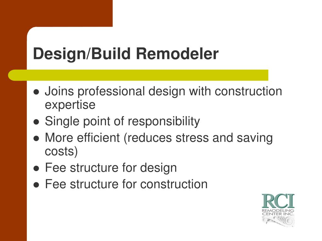Design/Build Remodeler