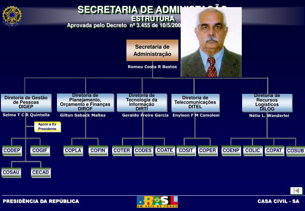 Diretoria de Planejamento, Orçamento e Finanças