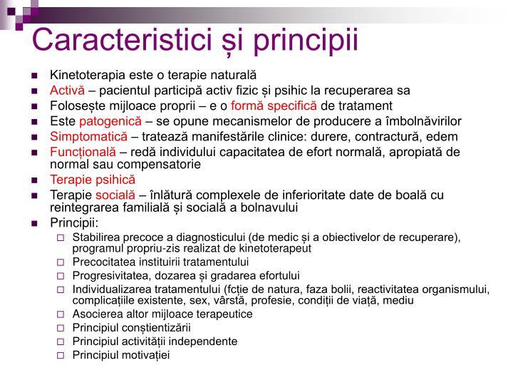 Caracteristici și principii