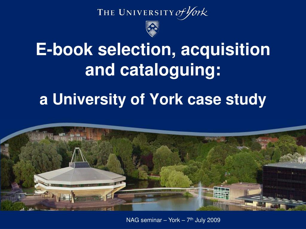 e book selection acquisition and cataloguing