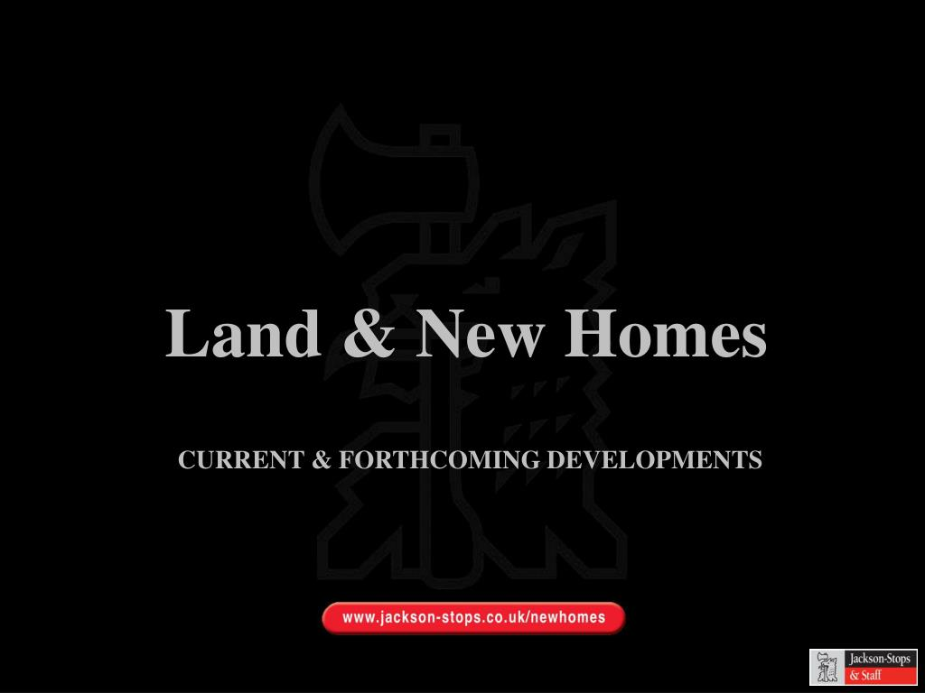 Land & New Homes