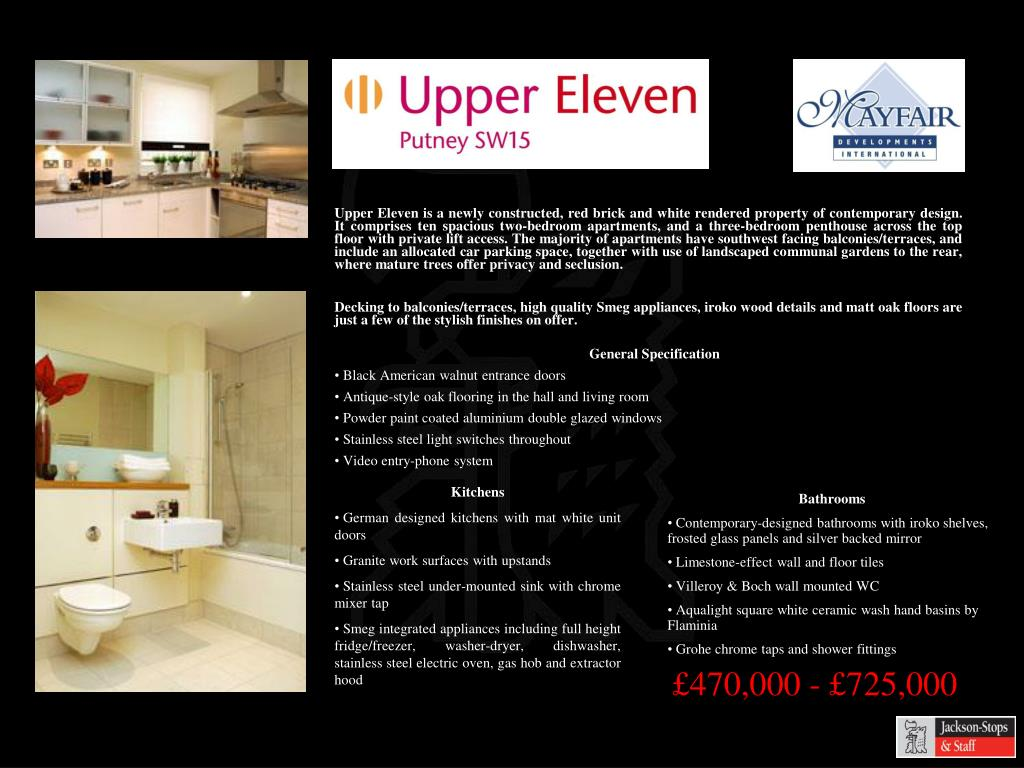Upper Eleven is a newly constructed, red brick and white rendered property of contemporary design. It comprises ten spacious two-bedroom apartments, and a three-bedroom penthouse across the top floor with private lift access. The majority of apartments have southwest facing balconies/terraces, and include an allocated car parking space, together with use of landscaped communal gardens to the rear, where mature trees offer privacy and seclusion.