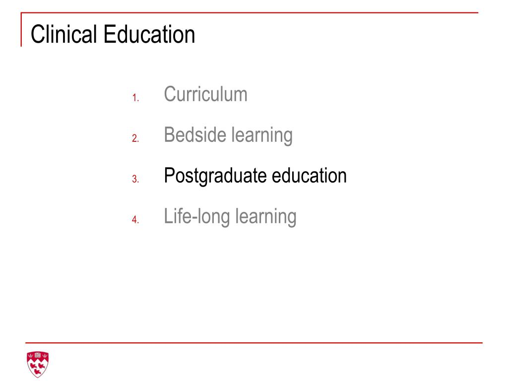Clinical Education